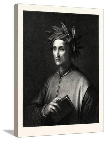 Dante Alighieri--Stretched Canvas Print