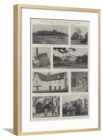 Coronation Services, Manors Conferring Special Privileges--Framed Art Print