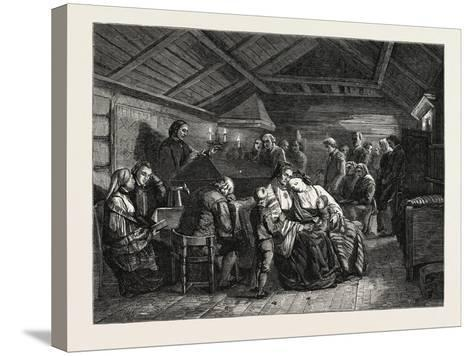 Salon of 1855--Stretched Canvas Print