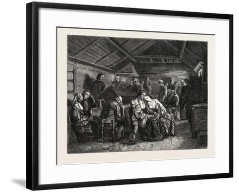 Salon of 1855--Framed Art Print