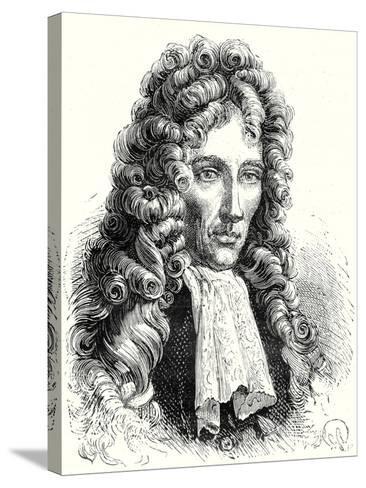 Robert Boyle--Stretched Canvas Print
