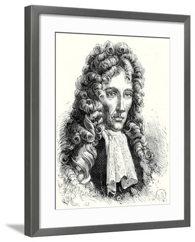 Robert Boyle--Framed Art Print