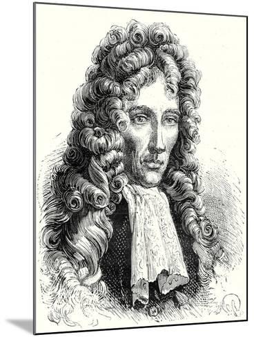 Robert Boyle--Mounted Giclee Print