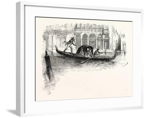 Venice--Framed Art Print