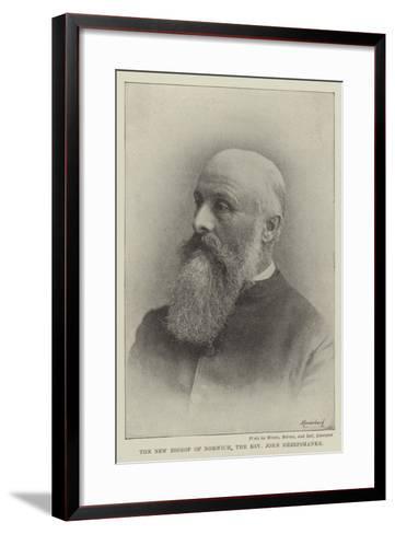 The New Bishop of Norwich, the Reverend John Sheepshanks--Framed Art Print