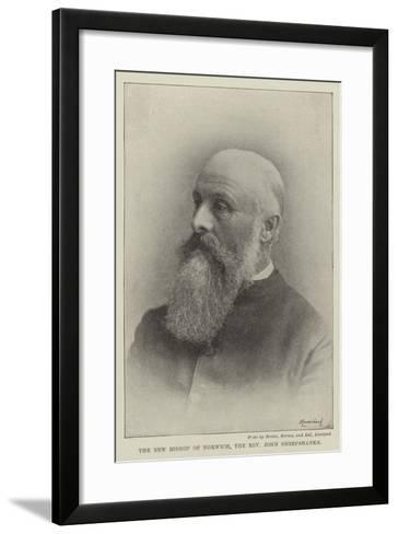 The New Bishop of Norwich, the Reverend John Sheepshanks--Framed Art Print