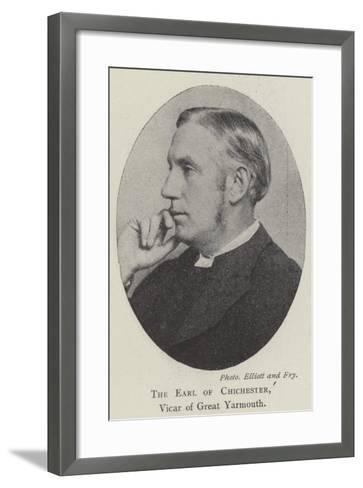 The Earl of Chichester, Vicar of Great Yarmouth--Framed Art Print