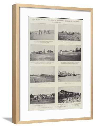 The French Sphere of Influence in Somaliland, Methods of Transport--Framed Art Print