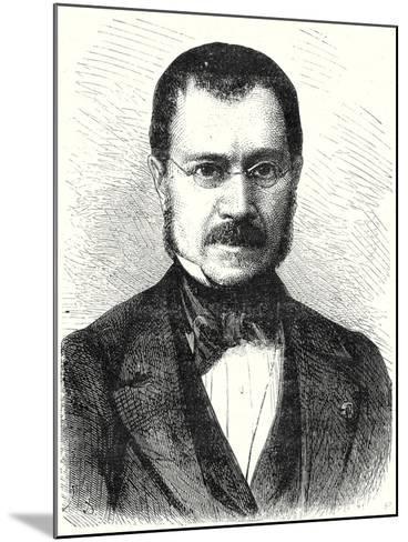 Jules Pétiet--Mounted Giclee Print