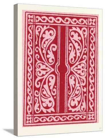 Italian Ornament--Stretched Canvas Print