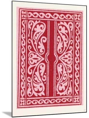 Italian Ornament--Mounted Giclee Print