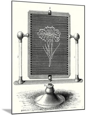 Magic Table--Mounted Giclee Print