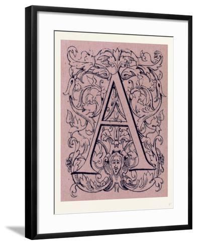 Italian Ornament--Framed Art Print