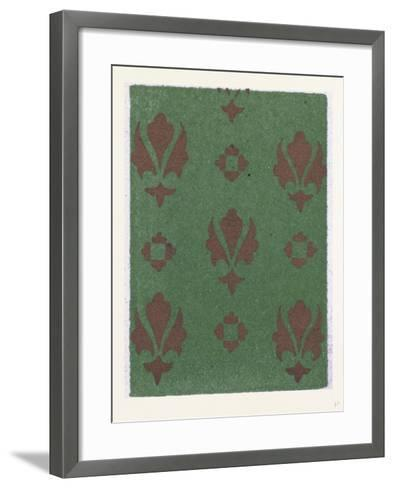 Medieval Ornament--Framed Art Print