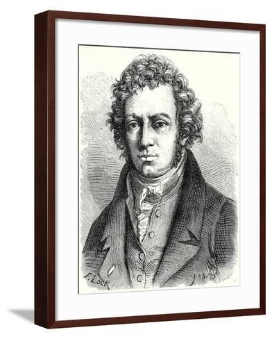 A.M. Ampère--Framed Art Print