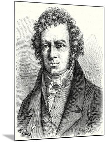 A.M. Ampère--Mounted Giclee Print