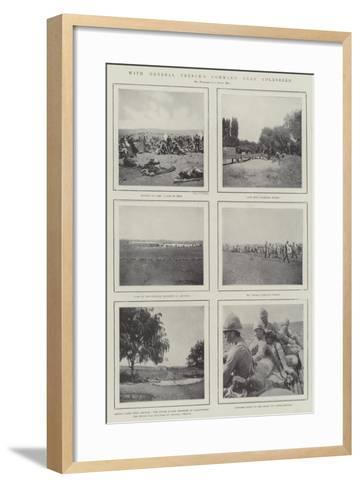With General French's Command Near Colesberg--Framed Art Print