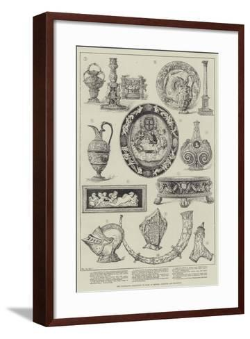 The Fountaine Collection on Sale at Messers Christie and Manson'S--Framed Art Print