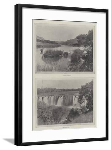 The River Tugela--Framed Art Print