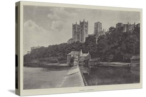 Durham Cathedral--Stretched Canvas Print