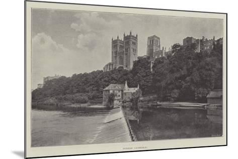Durham Cathedral--Mounted Giclee Print