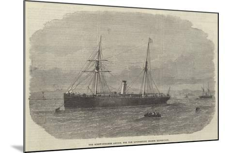 The Screw-Steamer Abydos, for the Livingstone Search Expedition--Mounted Giclee Print