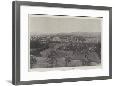 Pretoria, a General View--Framed Art Print