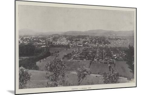 Pretoria, a General View--Mounted Giclee Print