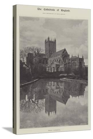 Wells Cathedral--Stretched Canvas Print