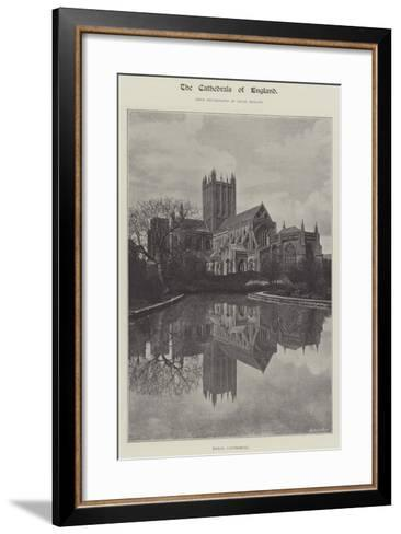 Wells Cathedral--Framed Art Print