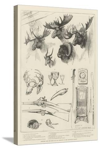 Sketches from the Sport and Art Exhibition at the Grosvenor Gallery--Stretched Canvas Print