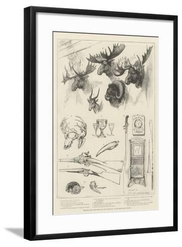 Sketches from the Sport and Art Exhibition at the Grosvenor Gallery--Framed Art Print
