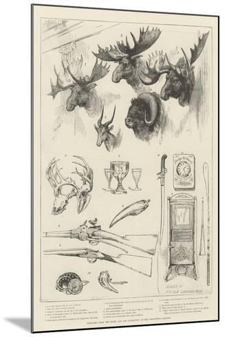 Sketches from the Sport and Art Exhibition at the Grosvenor Gallery--Mounted Giclee Print