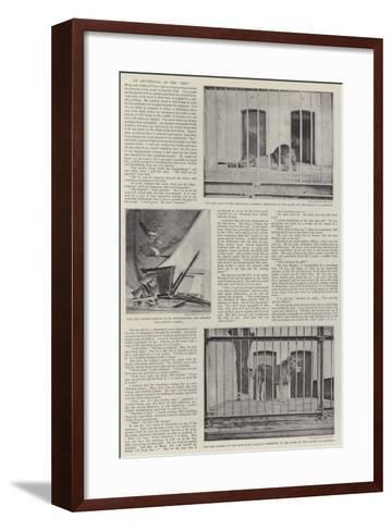 An Adventure at the Zoo--Framed Art Print