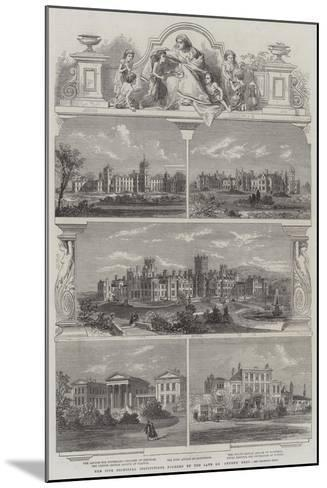 The Five Principal Institutions Founded by the Late Dr Andrew Reed--Mounted Giclee Print