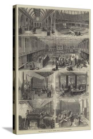 The Wine Supply of England, Messers Gilbey's London Establishments--Stretched Canvas Print