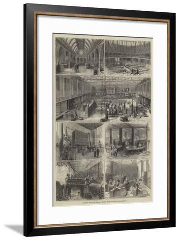The Wine Supply of England, Messers Gilbey's London Establishments--Framed Art Print