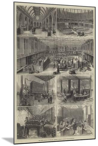 The Wine Supply of England, Messers Gilbey's London Establishments--Mounted Giclee Print