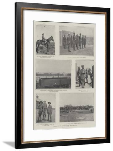 Scenes at the Modder River and Rensburg--Framed Art Print