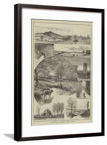 The New Route to Brighton, London Brighton and South Coast Railway--Framed Art Print