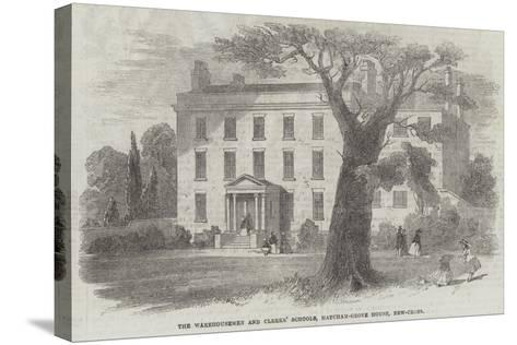 The Warehousemen and Clerks' Schools, Hatcham-Grove House, New-Cross--Stretched Canvas Print