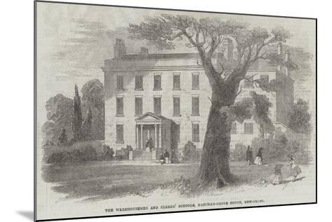 The Warehousemen and Clerks' Schools, Hatcham-Grove House, New-Cross--Mounted Giclee Print