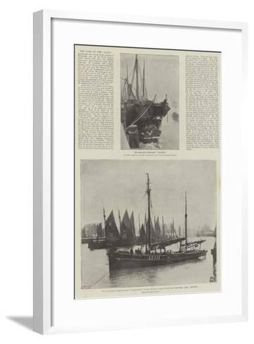 The Loss of the Elbe--Framed Art Print