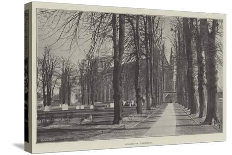 Winchester Cathedral--Stretched Canvas Print