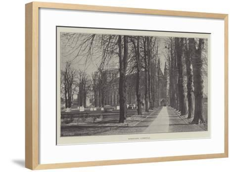 Winchester Cathedral--Framed Art Print