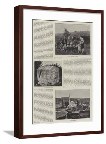 Sketches of Bosnia--Framed Art Print