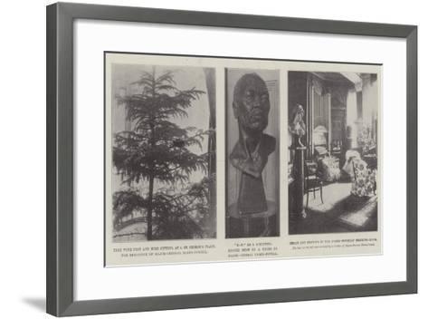 The Home of Baden-Powell--Framed Art Print