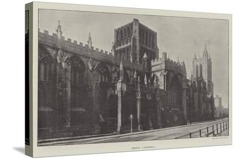 Bristol Cathedral--Stretched Canvas Print