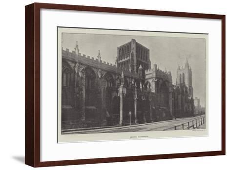 Bristol Cathedral--Framed Art Print