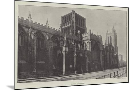 Bristol Cathedral--Mounted Giclee Print